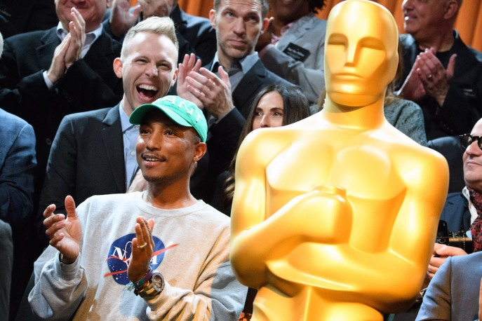 Oscars Nominee Luncheon Pharrell Williams
