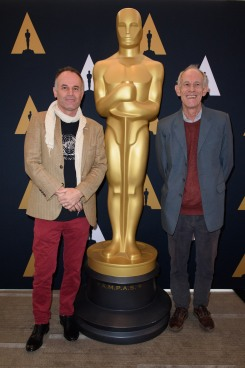 "Directors of the Oscar® nominated foreign film ""Tanna"", Bentley Dean and Martin Butler prior to the Academy of Motion Picture Arts and Sciences' Oscar Week: Foreign Language Films event on Saturday, February 25, 2017 at the Samuel Goldwyn Theater in Beverly Hills. The Oscars® will be presented on Sunday, February 26, 2017, at the Dolby Theatre® in Hollywood, CA and televised live by the ABC Television Network."