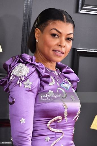 Taraji P. Henson Hearts on Fire