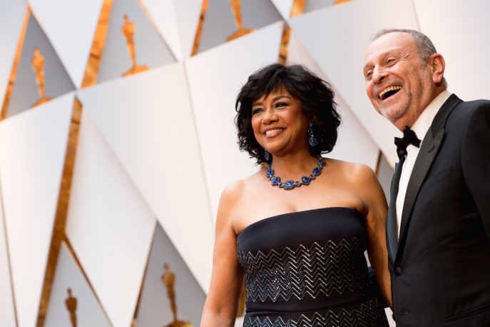 The 89th Oscars® Cheryl Boone Isaacs and Stanley Isaacs 4Chion Lifestyle