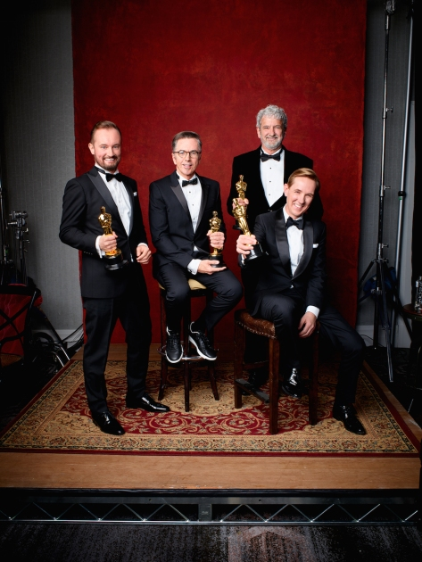 Andy Wright, Kevin O'Connell Peter Grace and Robert Mackenzie Oscar® 4Chion Lifestyle