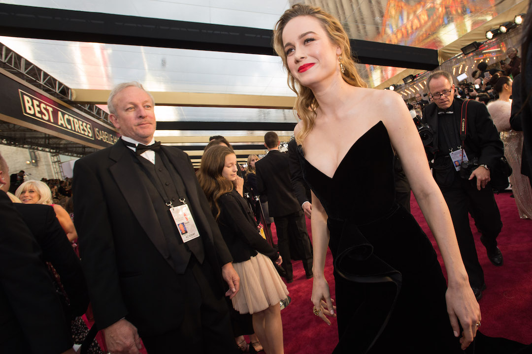 Brie Larson Red Carpet Oscars® 4Chion Lifestyle