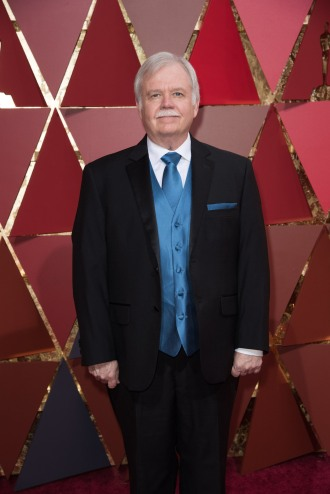 Oscars® nominee Bub Asman arrives on the red carpet with guests at The 89th Oscars® at the Dolby® Theatre in Hollywood, CA on Sunday, February 26, 2017.