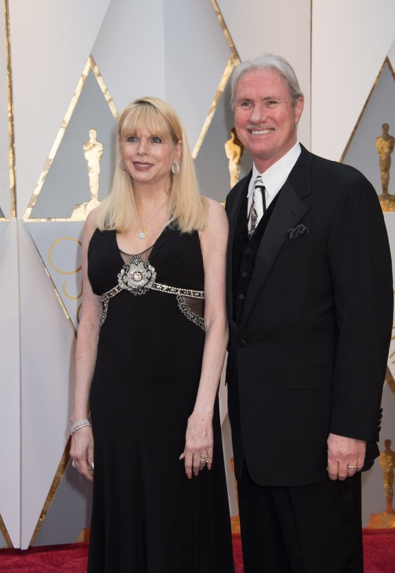 Oscars® nominee Burt Dalton and guest arrive on the red carpet at The 89th Oscars® at the Dolby® Theatre in Hollywood, CA on Sunday, February 26, 2017.