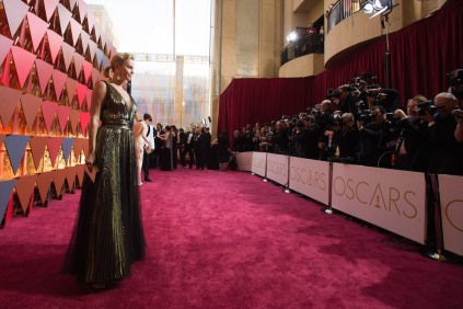 Charlize Theron on the red carpet of The 89th Oscars® at the Dolby® Theatre in Hollywood, CA on Sunday, February 26, 2017.