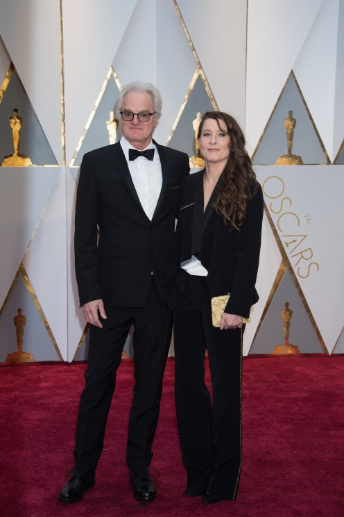 Claude La Haye, Oscar® nominee, arrives with a guest on the red carpet of The 89th Oscars® at the Dolby® Theatre in Hollywood, CA on Sunday, February 26, 2017.