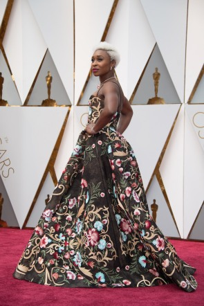 CYNTHIA ERIVO Oscars® red carpet 4Chion Lifestyle