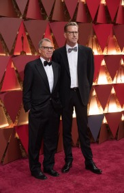 Oscar®-nominees David Permut and John Seiber arrive at The 89th Oscars® at the Dolby® Theatre in Hollywood, CA on Sunday, February 26, 2017.