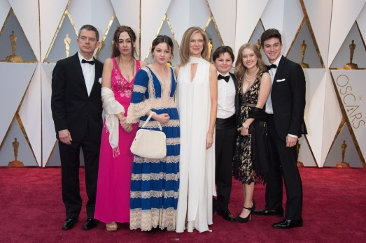 Academy CEO Dawn Hudson arrives with guests on the red carpet of The 89th Oscars® at the Dolby® Theatre in Hollywood, CA on Sunday, February 26, 2017.