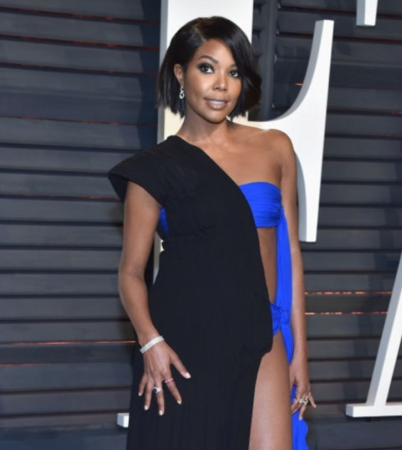 Gabrielle Union Hearts on Fire Vanity Fair Oscar Party