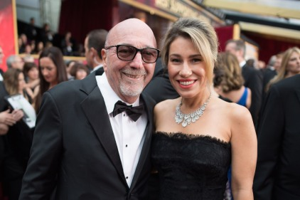 Oscar®-nominee Gianfranco Rosi and guest arrive at The 89th Oscars® at the Dolby® Theatre in Hollywood, CA on Sunday, February 26, 2017.