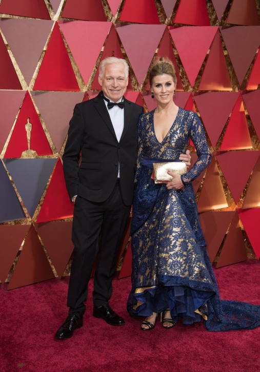 Hannes Holm, Oscar® nominee, and guest arrive on the red carpet of The 89th Oscars® at the Dolby® Theatre in Hollywood, CA on Sunday, February 26, 2017.