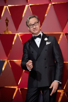 Hannes Holm, Oscar® nominee, arrives on the red carpet of The 89th Oscars® at the Dolby® Theatre in Hollywood, CA on Sunday, February 26, 2017.