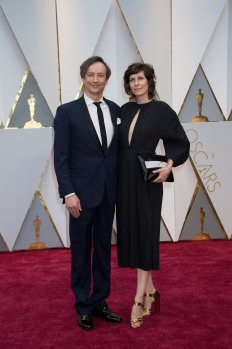 Oscar®-nominee, Hauschka and guest arrive at The 89th Oscars® at the Dolby® Theatre in Hollywood, CA on Sunday, February 26, 2017.
