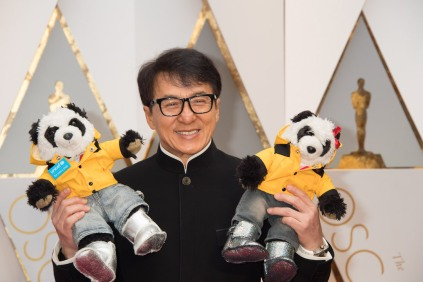 Jackie Chan arrives on the red carpet of The 89th Oscars® at the Dolby® Theatre in Hollywood, CA on Sunday, February 26, 2017.