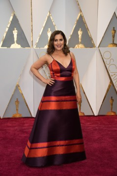 Kahane Cooperman, Oscar® nominee, arrives on the red carpet of The 89th Oscars® at the Dolby® Theatre in Hollywood, CA on Sunday, February 26, 2017.
