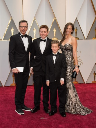 Kevin O'Connell, Oscar® nominee, and guests arrive on the red carpet of The 89th Oscars® at the Dolby® Theatre in Hollywood, CA on Sunday, February 26, 2017.