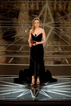 Presenter Brie Larson onstage during The 89th Oscars® at the Dolby® Theatre in Hollywood, CA on Sunday, February 26, 2017.