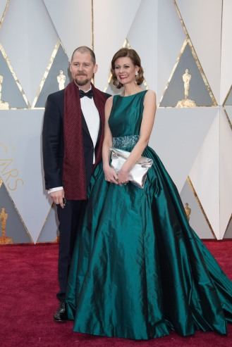 Love Larson, Oscar® nominee, and Eva von Bahr, Oscar® nominee, arrive on the red carpet of The 89th Oscars® at the Dolby® Theatre in Hollywood, CA on Sunday, February 26, 2017.