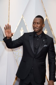 Oscar®-nominee Mahershala Ali arrives at The 89th Oscars® at the Dolby® Theatre in Hollywood, CA on Sunday, February 26, 2017.