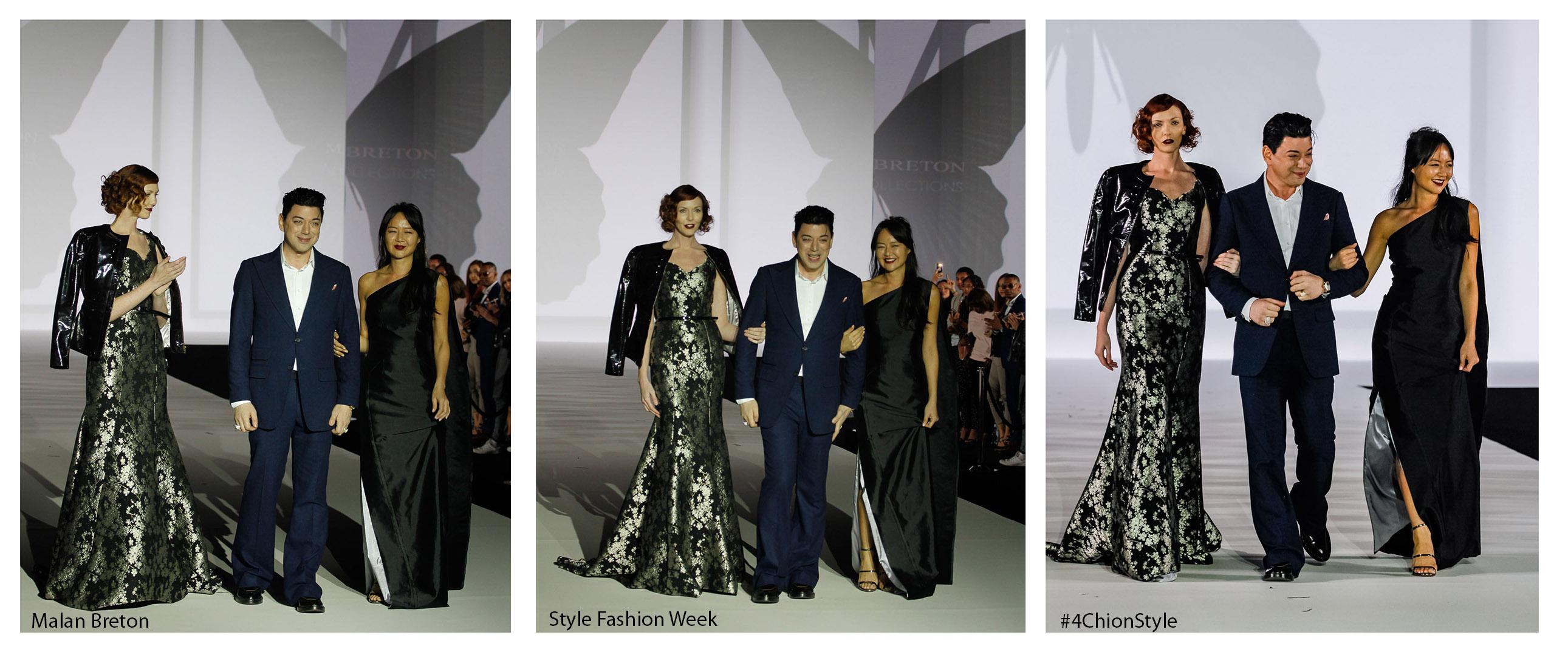 Malan Breton Style Fashion Week FW17 LA 4Chion Style