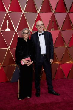 Maria Hidalga and Juanjo Gimenez, Oscar® nominee, arrives on the red carpet of The 89th Oscars® at the Dolby® Theatre in Hollywood, CA on Sunday, February 26, 2017.