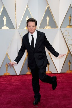 Michael J. Fox arrives at The 89th Oscars® at the Dolby® Theatre in Hollywood, CA on Sunday, February 26, 2017.