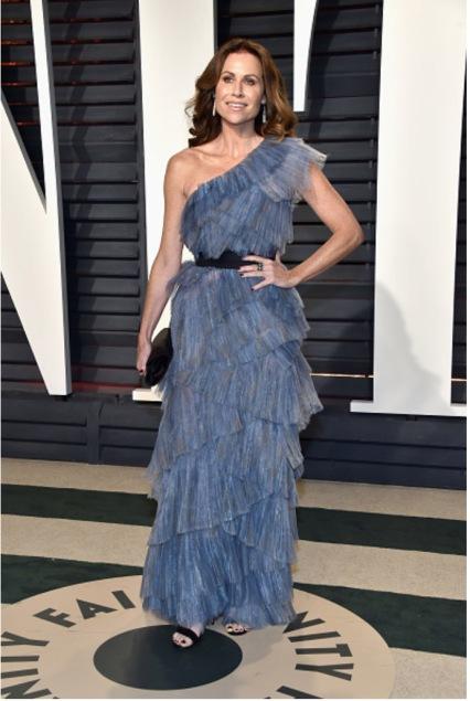 Minnie Driver Gilan Jewels Vanity Fair Oscar Party