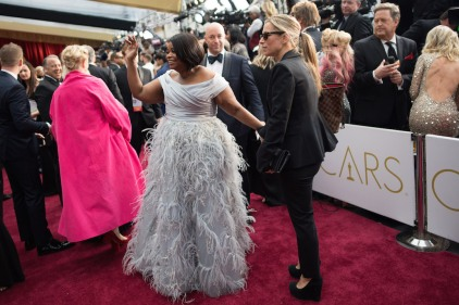Oscar®-nominee Octavia Spencer arrives at The 89th Oscars® at the Dolby® Theatre in Hollywood, CA on Sunday, February 26, 2017.