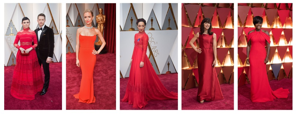 Red Dresses Oscars® Red Carpet 4Chion Lifestyle
