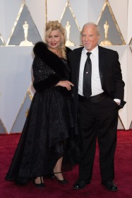 Actor Richard Dreyfuss and wife, Svetlana, arrive at The 89th Oscars® at the Dolby® Theatre in Hollywood, CA on Sunday, February 26, 2017.