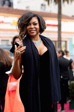 TARAJI P. HENSON red carpet Oscars