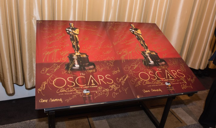 Oscars® Backstage Celebrities