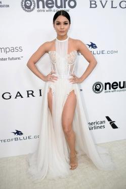 Vanessa Hudgens wore Le Vian Jewels Annual Elton John AIDS Foundation's Academy Awards Party