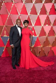 Viola Davis Oscars® Red Carpet Celebrities