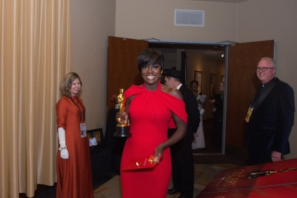 Viola Dave Oscars® Backstage Celebrities
