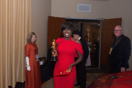 Viola Dave Oscars® Backstage Celebrities