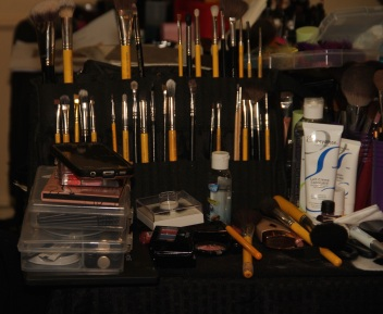 April Love Pro Makeup Academy Backstage