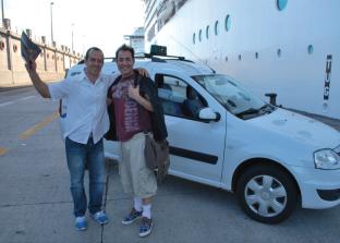 Carlos Martinez, Tour Guide with Patrik Simpson and Pol Atteu Saint Tenefire Spain